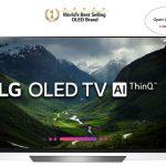 OLED TV LG 65 INCH 65E8PTA ULTRA HD 4K SMART TV HDR10+