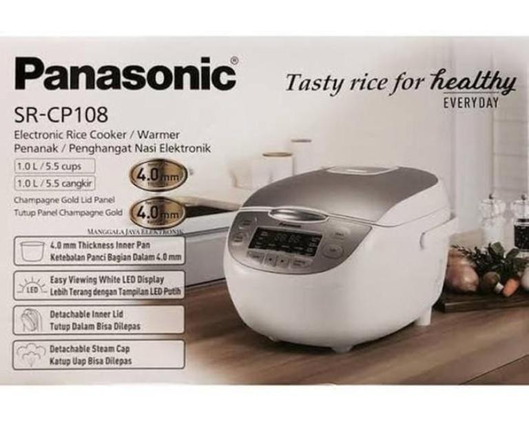 RICE COOKER DIGITAL PANASONIC SR-CP108NSR 1 LITER